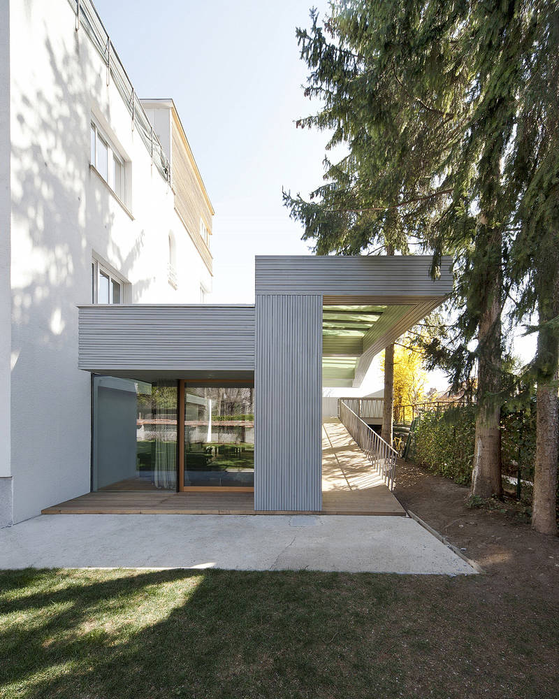 Villa T-Extension / OFIS, © Tomaz Gregorič