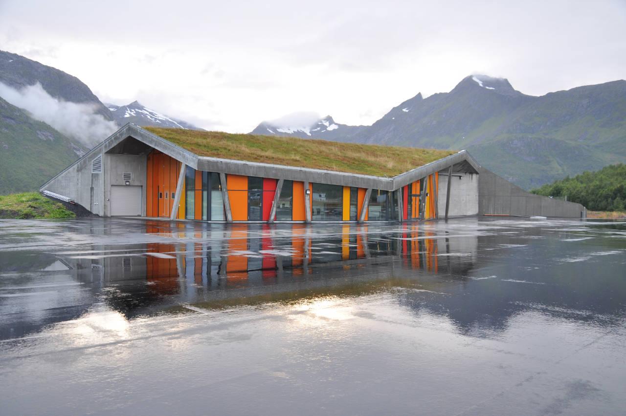 Gullesfjord Weight Control Station / JVA, © Håkon Aurlien