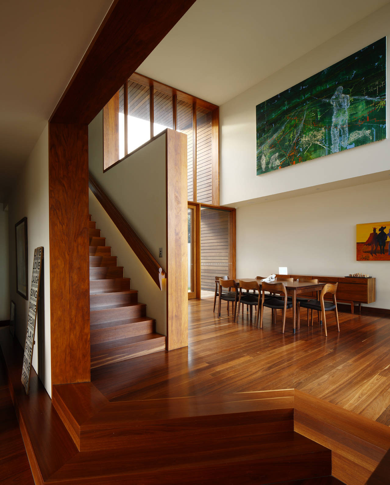 33 Staircase Designs Enriching Modern Interiors With: Gallery Of Rosalie Residence / Richard Kirk Architect