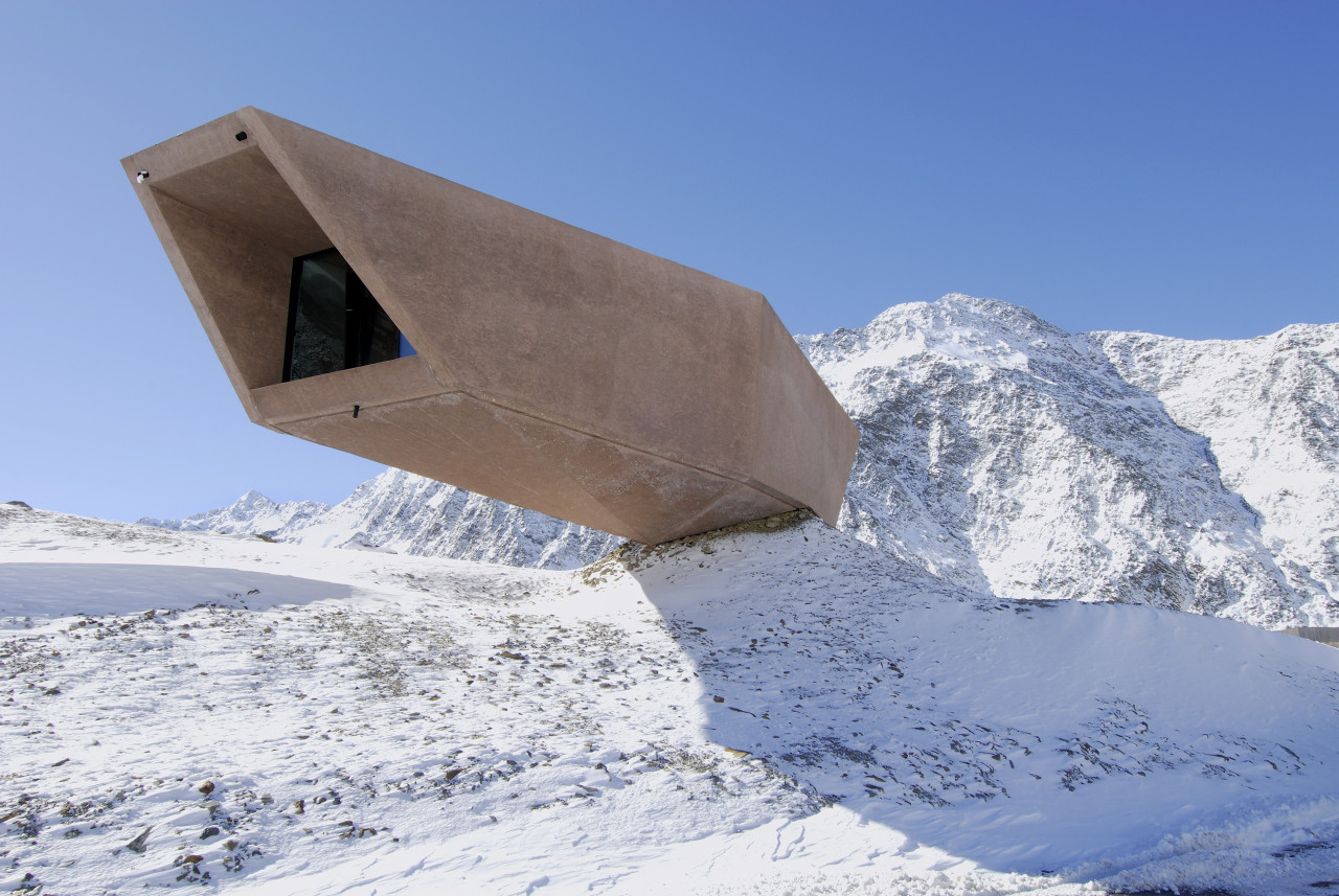 The Timmelsjoch Experience / Werner Tscholl Architects, © Alexa Rainer