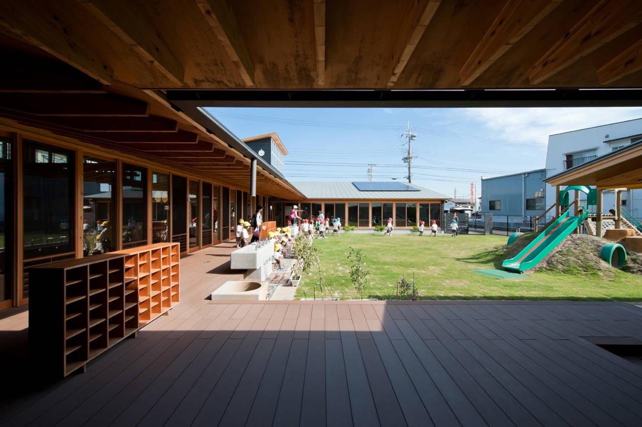 Einosato Nursery School / Shogo Iwata, © Ogawa Shigeo