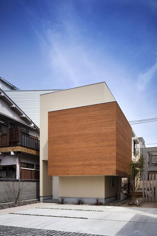 Casa en Kyobate / Naoko Horibe, © Eiji Tomita