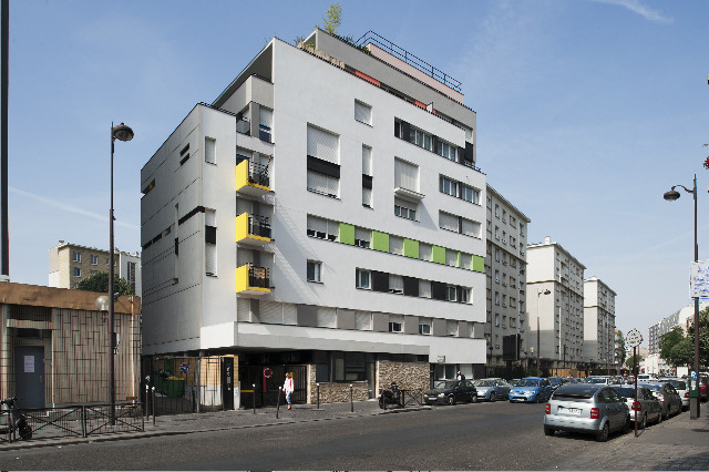 Logements Rue Riquet / François Noël Architectes, © Martin Argyroglo
