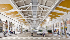 Sant Antoni Sunday Market / Ravetllat Ribas Architects