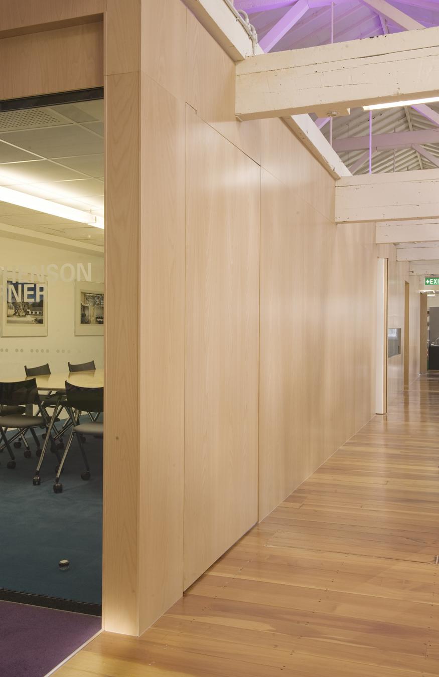 Stephenson&Turner Wellington Design Studio - Fit Out / Stephenson&Turner NZ Ltd
