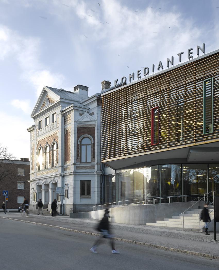 Komedianten Cultural Center / Nyréns Arkitektkontor, © Max Plunger