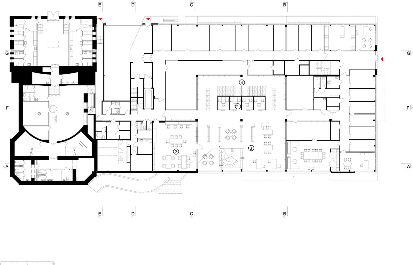 Komedianten Cultural Center / Nyréns Arkitektkontor