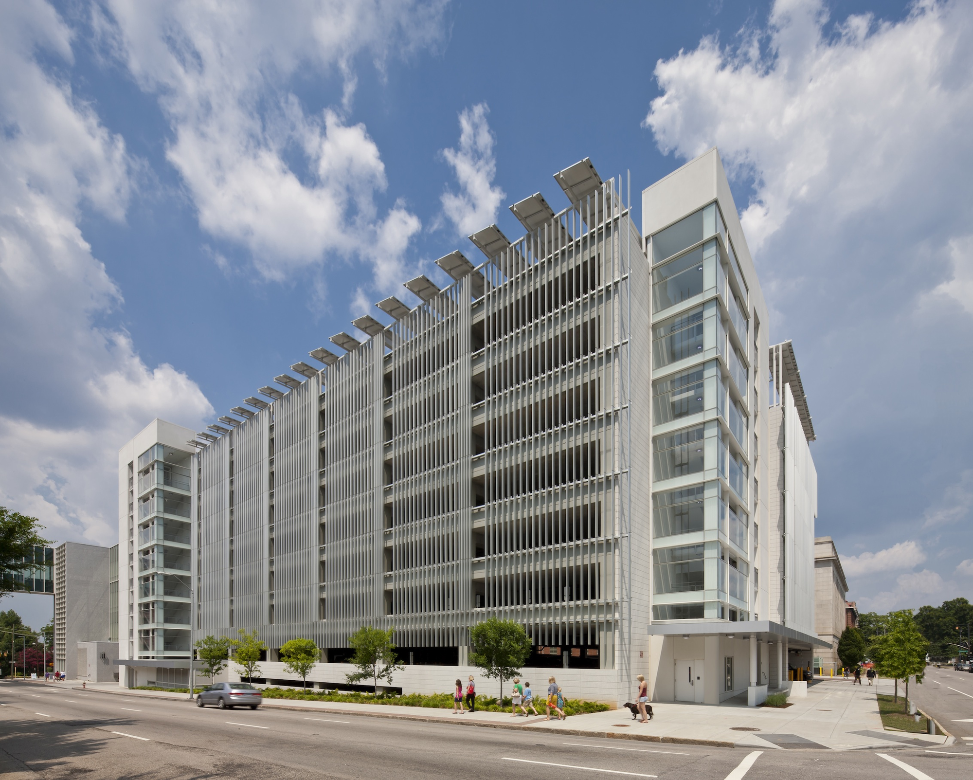 Green Square Parking Deck / Pearce Brinkley Cease + Lee, © Jonathan Hillyer