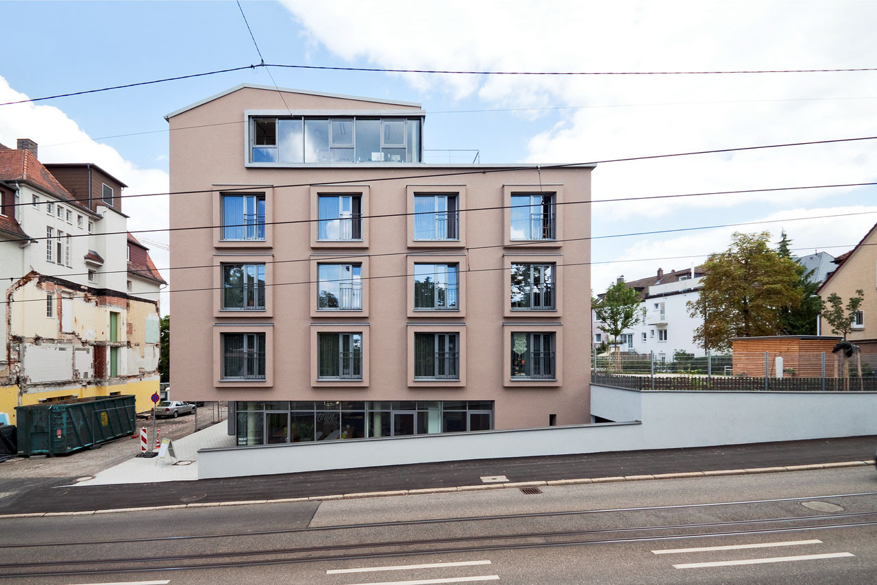 Veronica house elderly care facility f m b architekten archdaily - Architekten deutschland ...