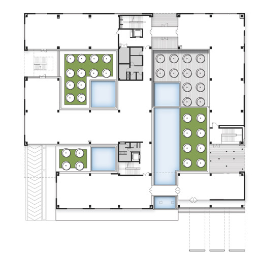 Gallery of corporate office for india glycols for Corporate office plan