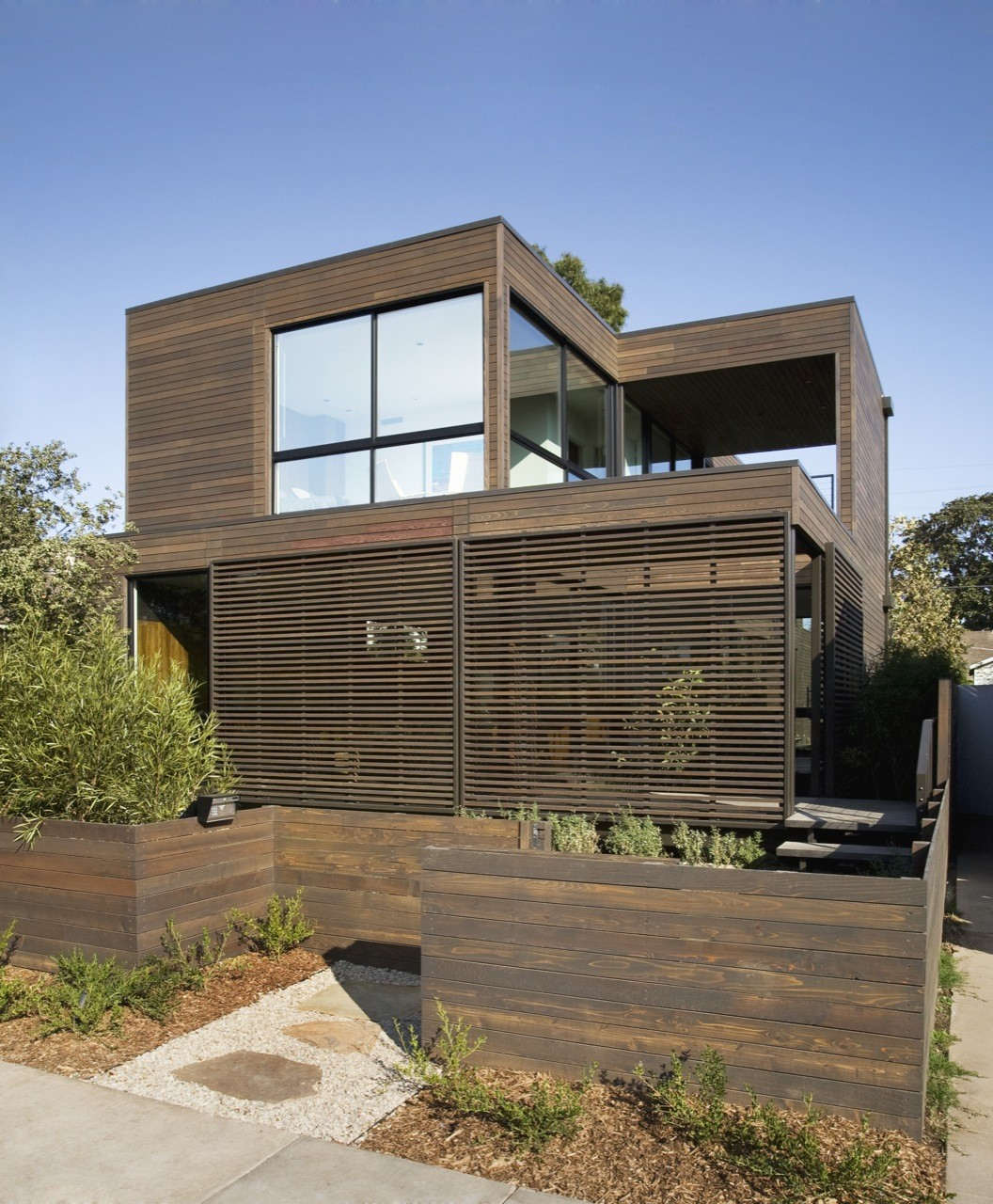 Palms Residence / Marmol Radziner Prefab, © Deasey Penner Photography