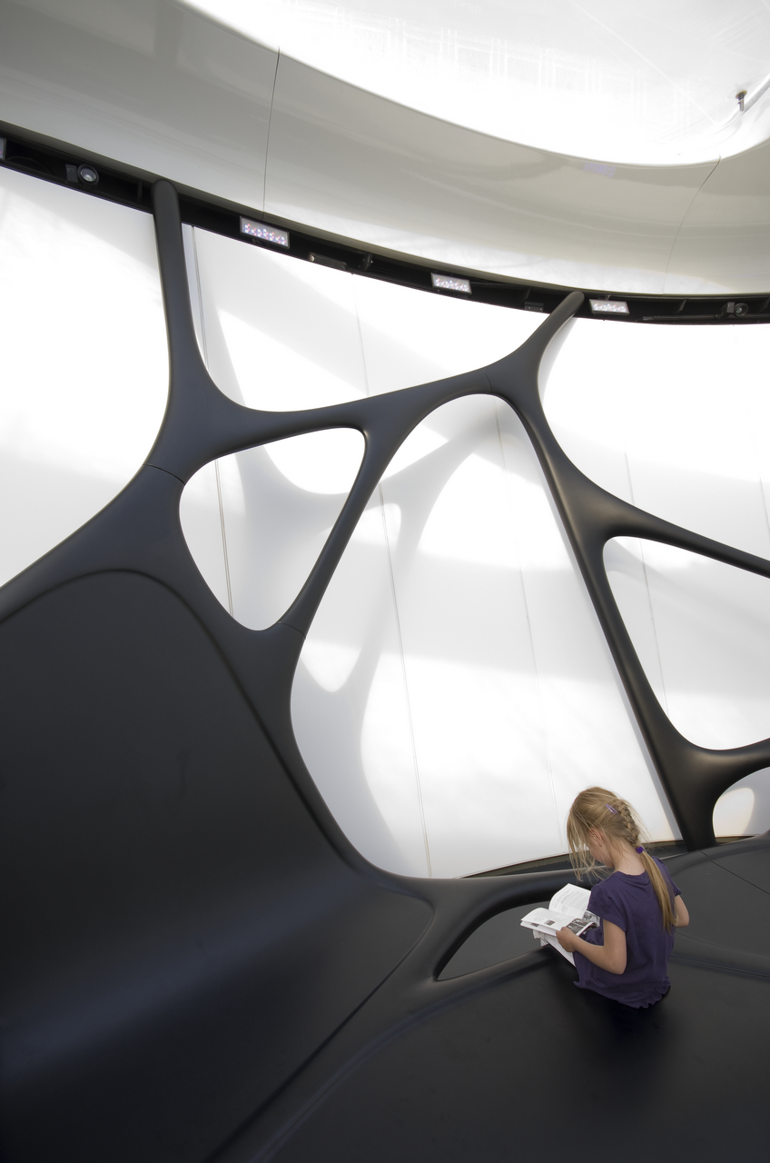 Gallery of chanel mobile art pavilion zaha hadid for Parametric architecture zaha hadid