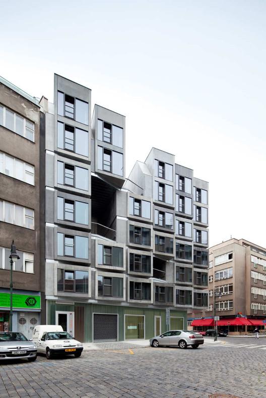 Tenement House / DAM.architekti, © Andrea Thiel-Lhotáková