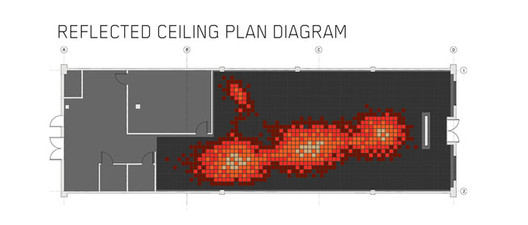 Reflected Ceiling Plan; Courtesy of RA-DA