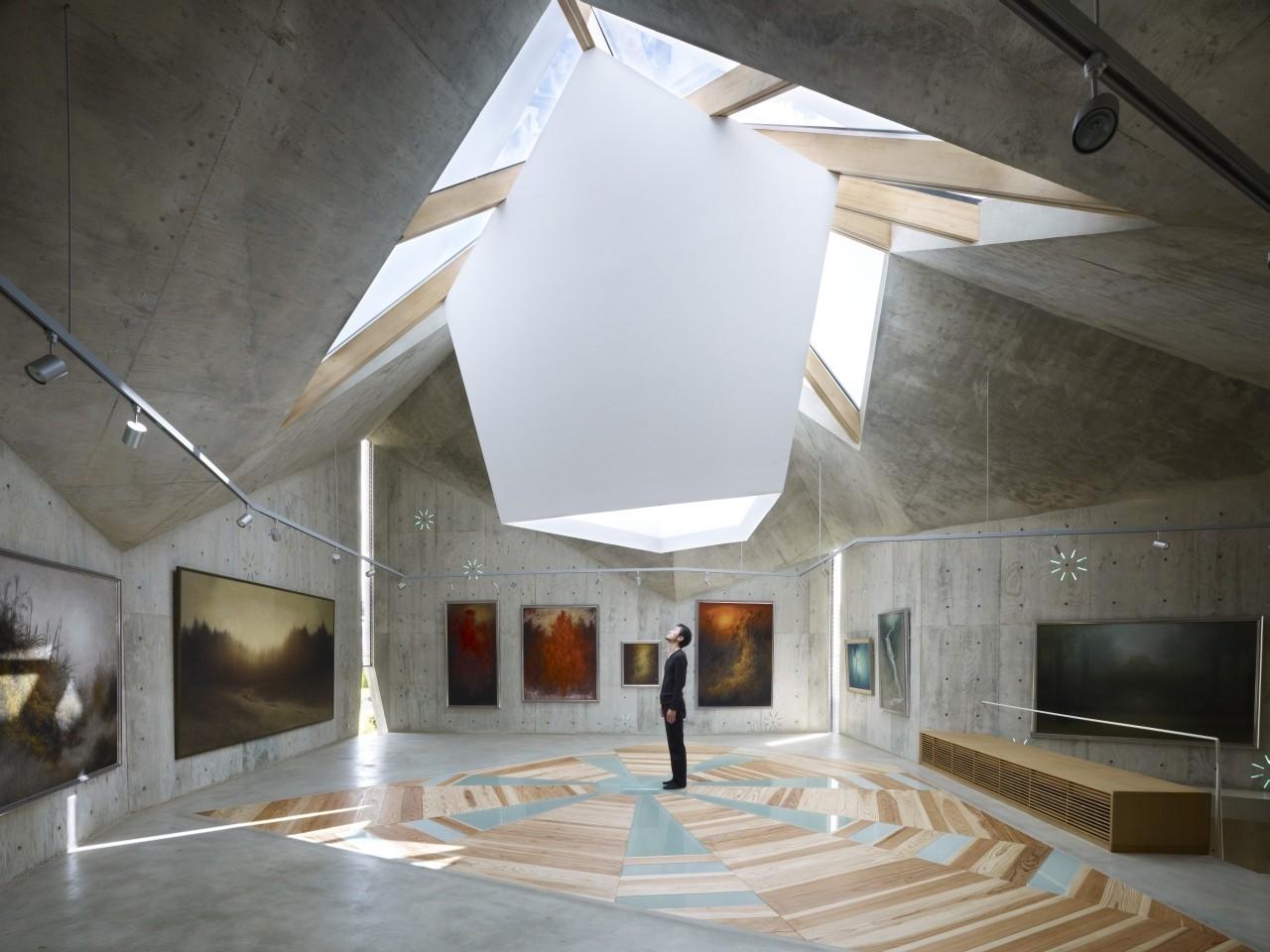 Gallery of Mecenat Art Museum / naf architect & design - 12