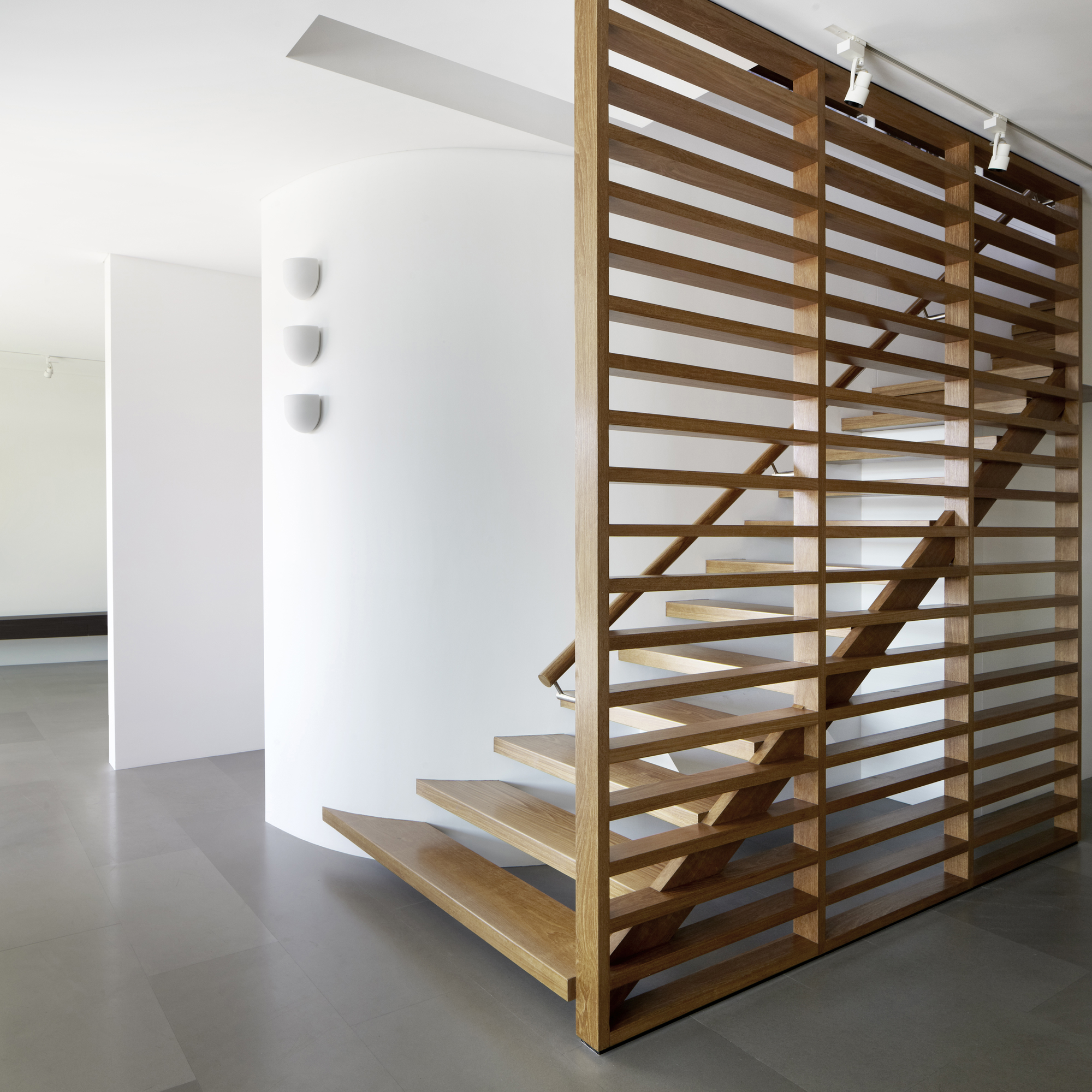 Gallery of wentworth rd house edward szewczyk architects 3 - Tete de marche escalier ...