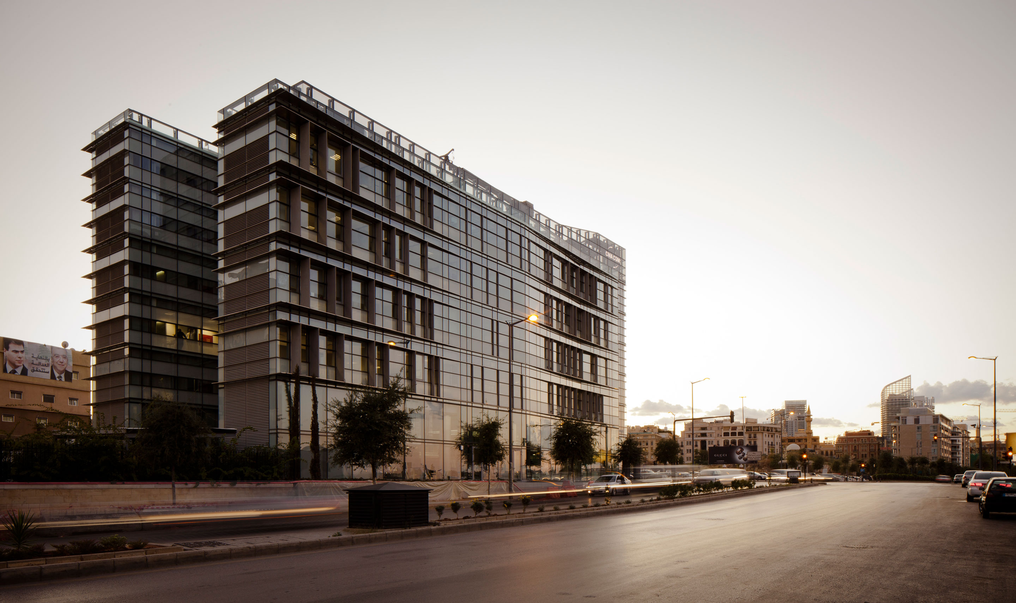 CMA-CGM Headquarters / Nabil Gholam Architects