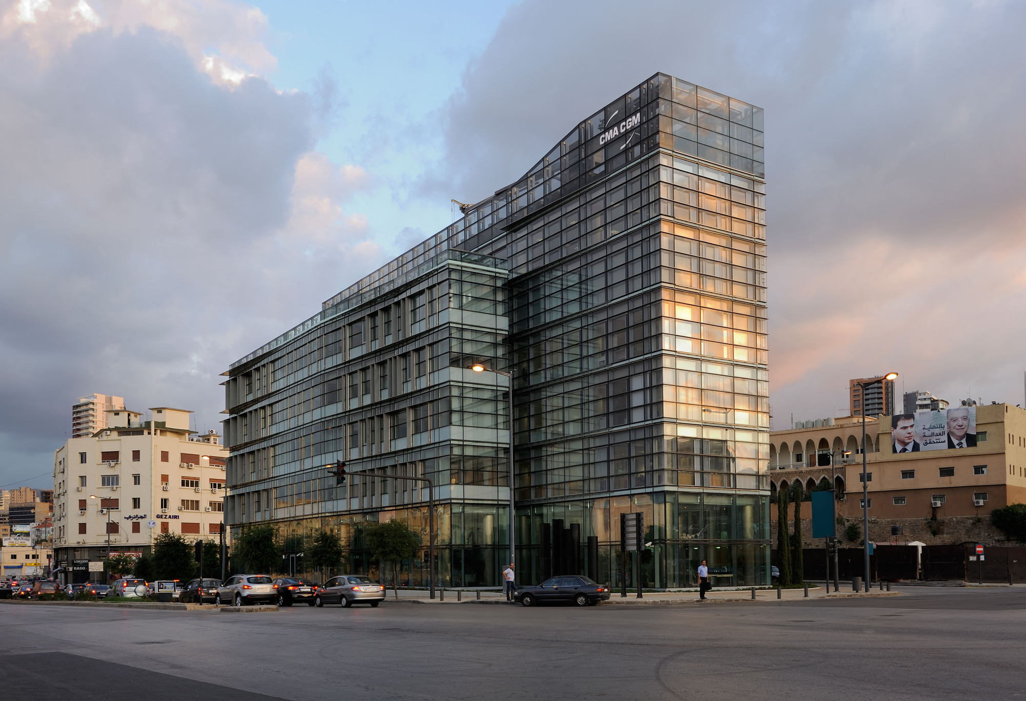 Cma cgm headquarters nabil gholam architects archdaily for Plataforma arquitectura