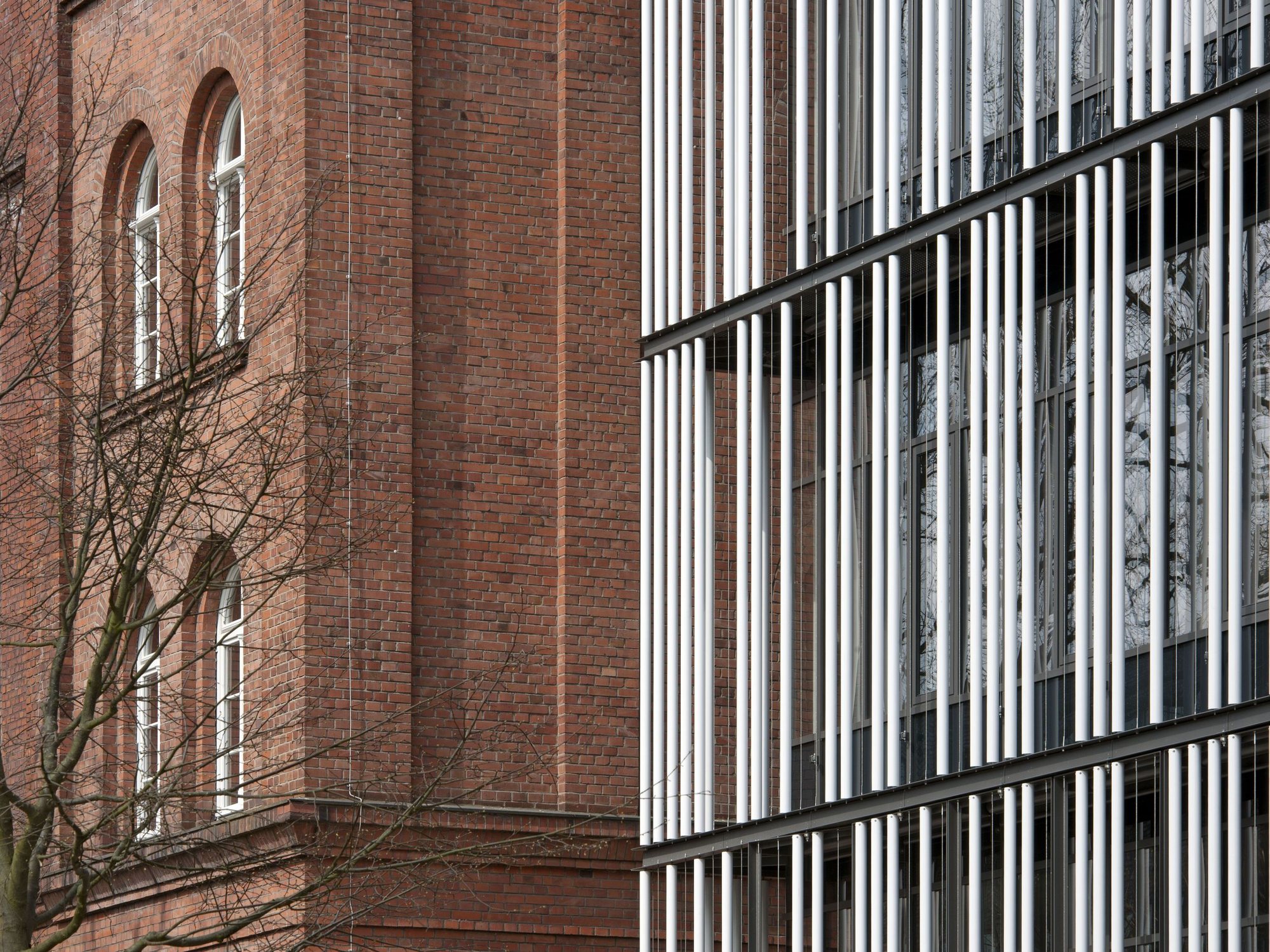 Hamburg-Harburg Technical University Extension / gmp Architekten