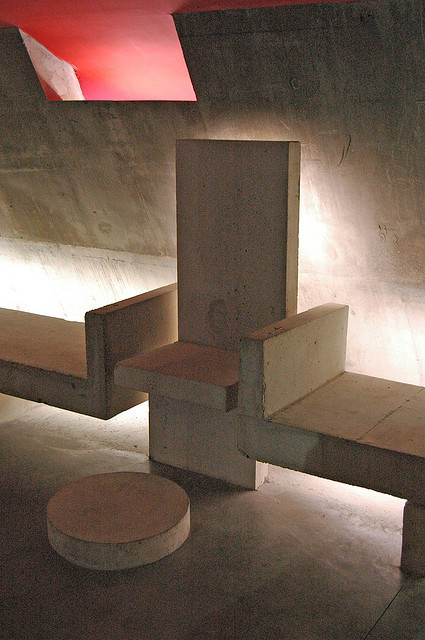Gallery of ad classics church at firminy le corbusier 27 for Corbusier sessel 00 schneider