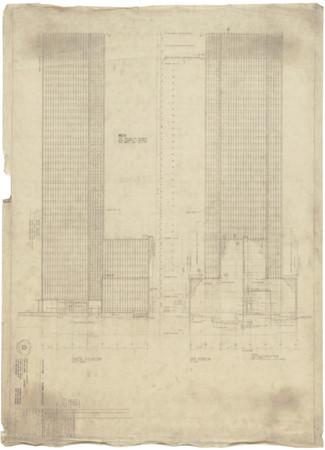 Mies' sketch