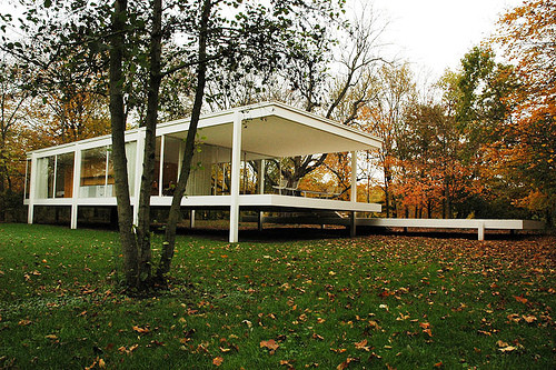 Ad Classics The Farnsworth House Mies Van Der Rohe