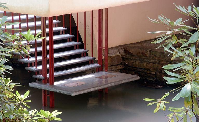 Gallery of ad classics fallingwater house frank lloyd - La maison sur la cascade ...