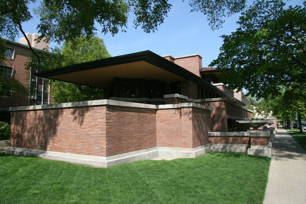 Gallery Of Ad Classics Frederick C Robie House Frank