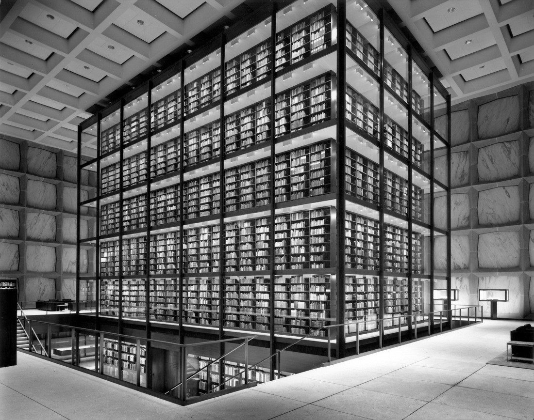 Gallery Of Ad Classics Beinecke Rare Book And Manuscript