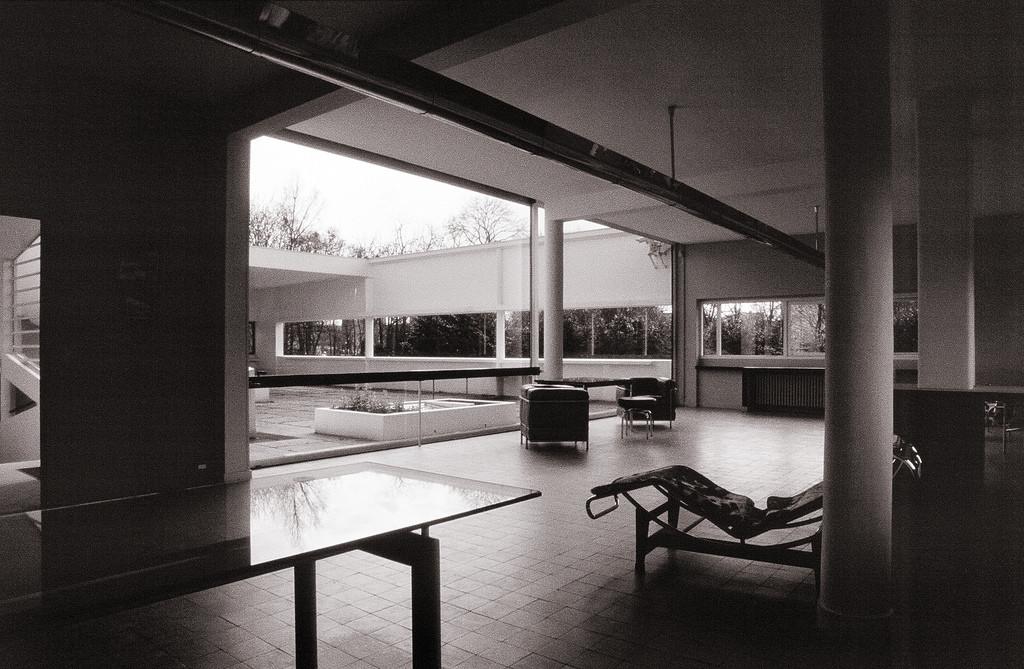 Gallery of ad classics villa savoye le corbusier 13 - Le corbusier design style ...