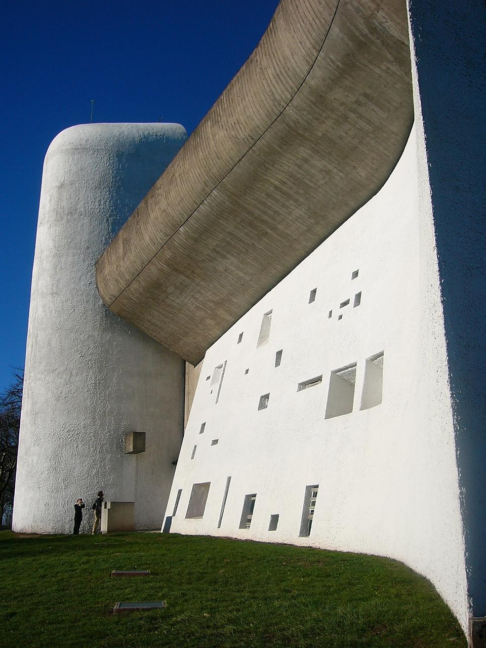 Gallery of ad classics ronchamp le corbusier 12 for Architecture le corbusier