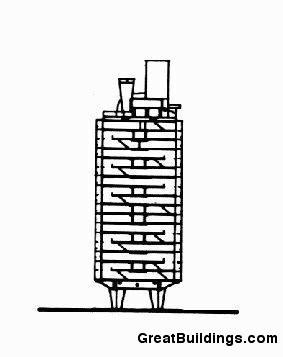 Gallery of ad classics unite d 39 habitation le corbusier 26 - Unite d habitation dimensions ...
