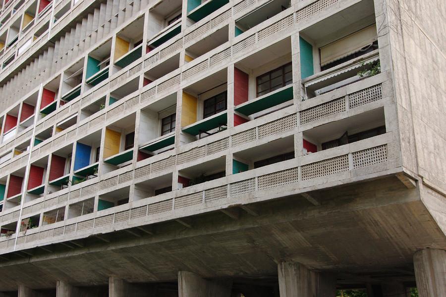 Gallery of ad classics unite d 39 habitation le corbusier 10 - Unite d habitation dimensions ...