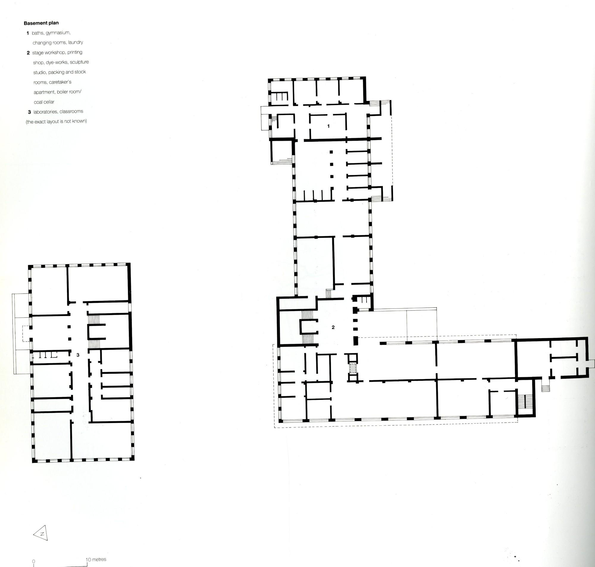 Gallery of ad classics dessau bauhaus walter gropius 18 for Bauhaus madera a medida