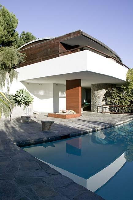 AD Classics: Schwimmer House / John Lautner, © Patricia Parinejad