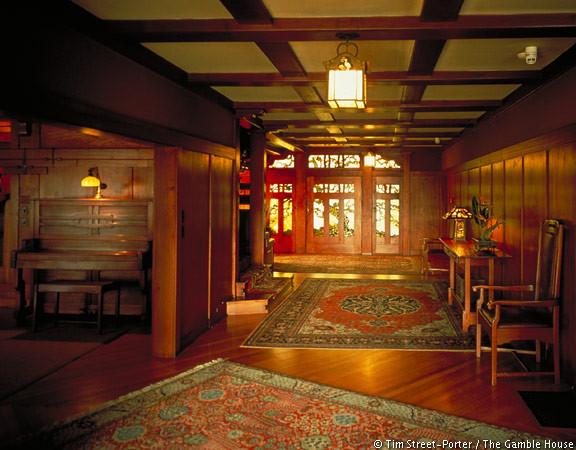 Gallery of ad classics gamble house greene greene 5 for The family room pasadena