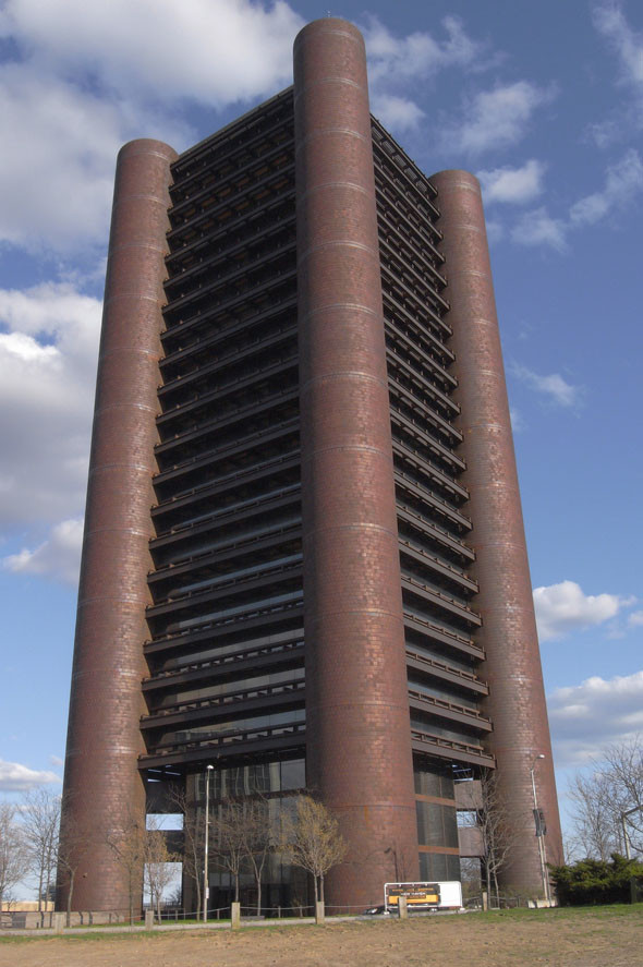AD Classics: Knights of Columbus Building / Kevin Roche & John Dinkeloo, © Wikimedia Commons