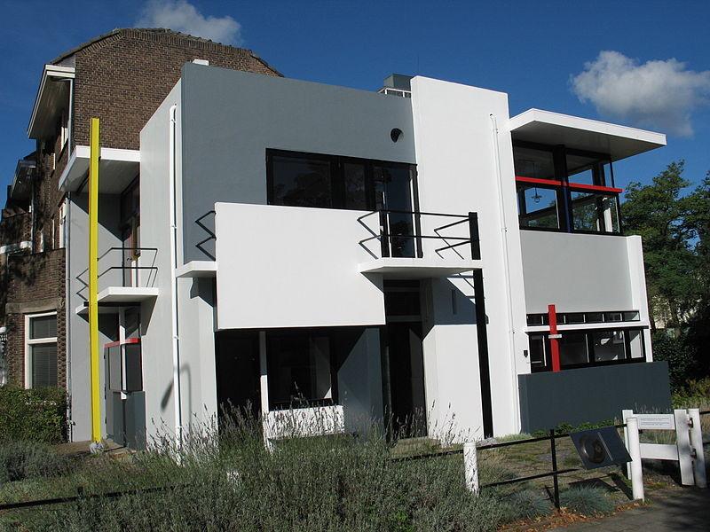 AD Classics: Rietveld Schroder House / Gerrit Rietveld, © Wikimedia Commons