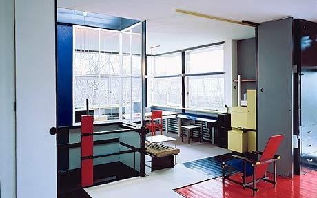 ad classics rietveld schroder house gerrit rietveld archdaily. Black Bedroom Furniture Sets. Home Design Ideas