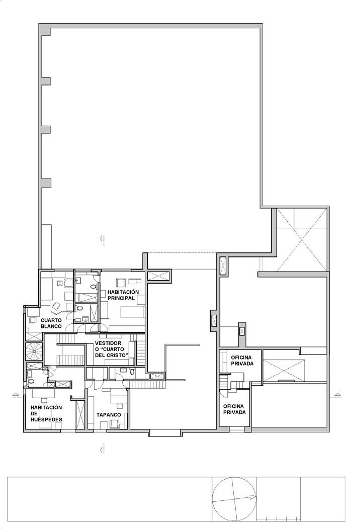 Gallery of ad classics casa barragan luis barragan 41 for Adhouse plans
