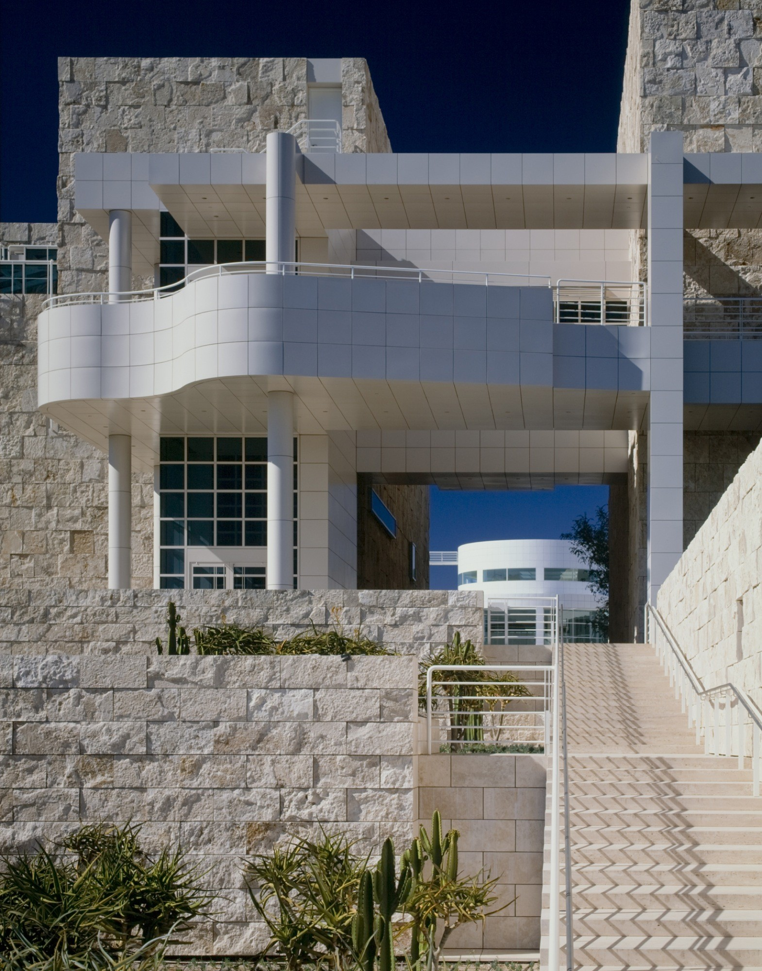 Gallery Of Ad Classics Getty Center Richard Meier