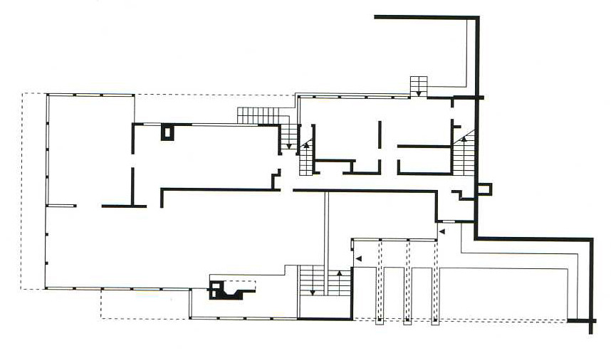 Gallery of ad classics lovell house richard neutra 8 for Adhouse plans