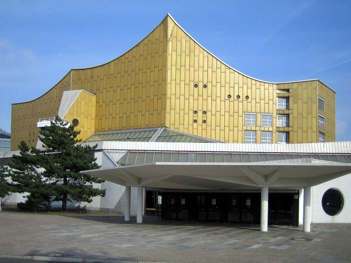 AD Classics: Berlin Philharmonic / Hans Scharoun, © Courtesy of Wikimedia Commons