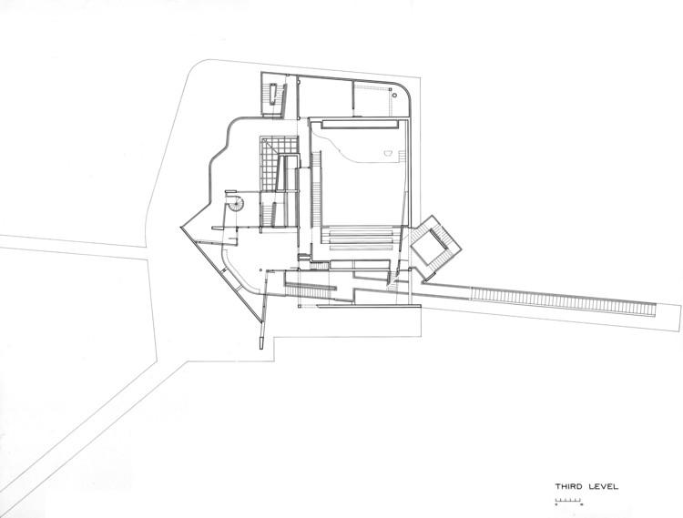 Third Floor, Courtesy of Richard Meier & Partners Architects