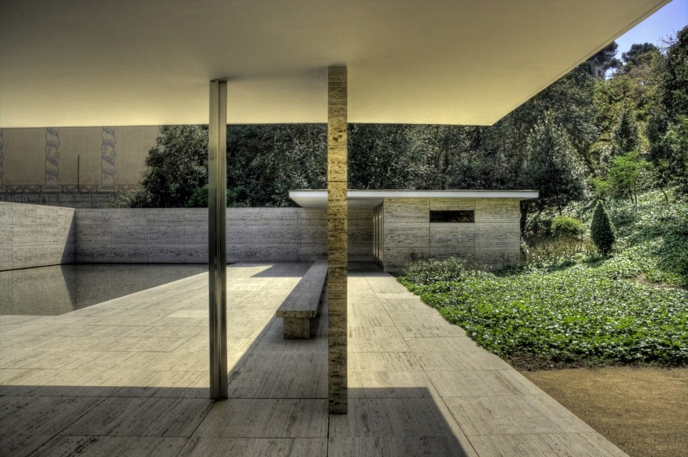 gallery of ad classics barcelona pavilion mies van der rohe 12. Black Bedroom Furniture Sets. Home Design Ideas