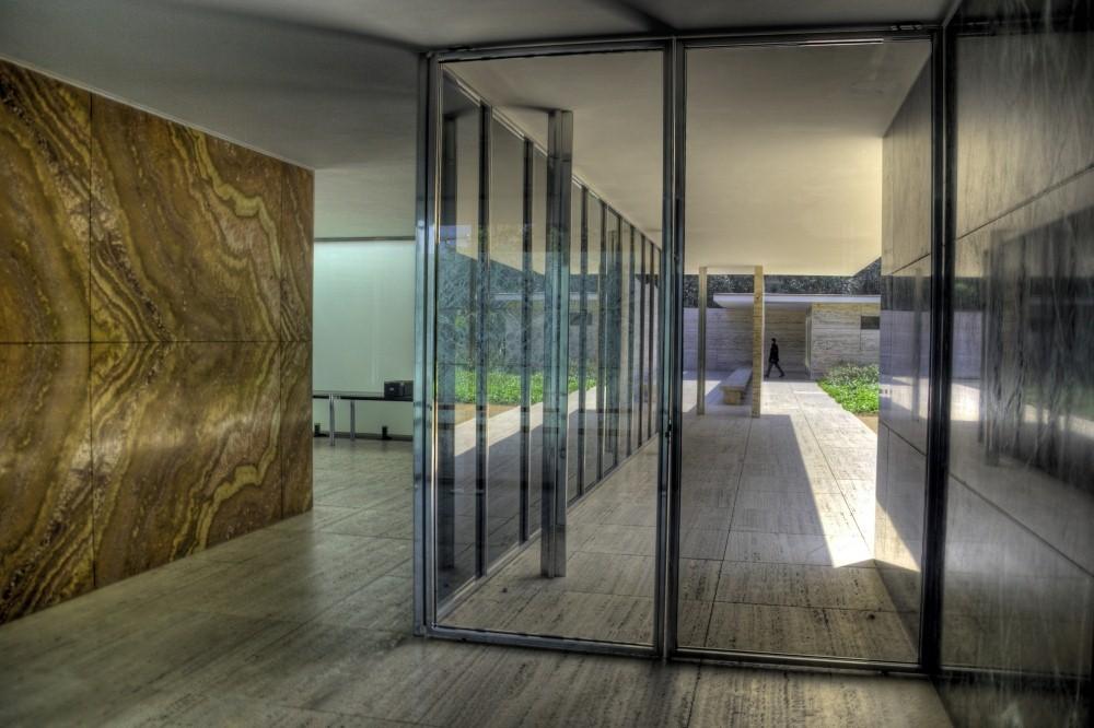 gallery of ad classics barcelona pavilion mies van der rohe 15. Black Bedroom Furniture Sets. Home Design Ideas