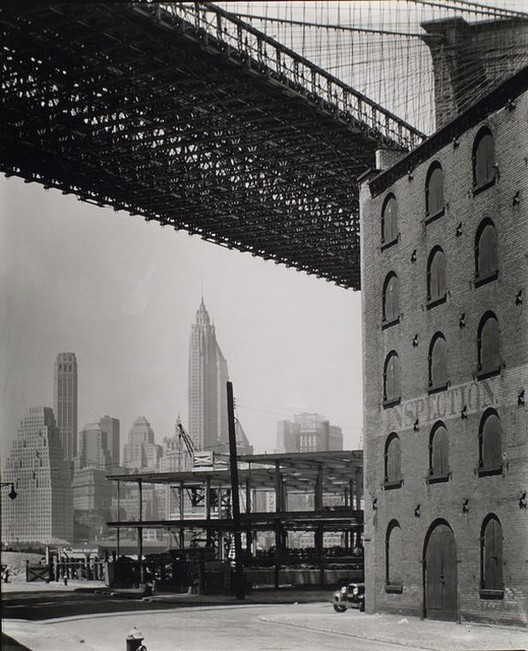 Brooklyn Bridge 1936 Courtesy of Flickr CC License / Berenice Abbott