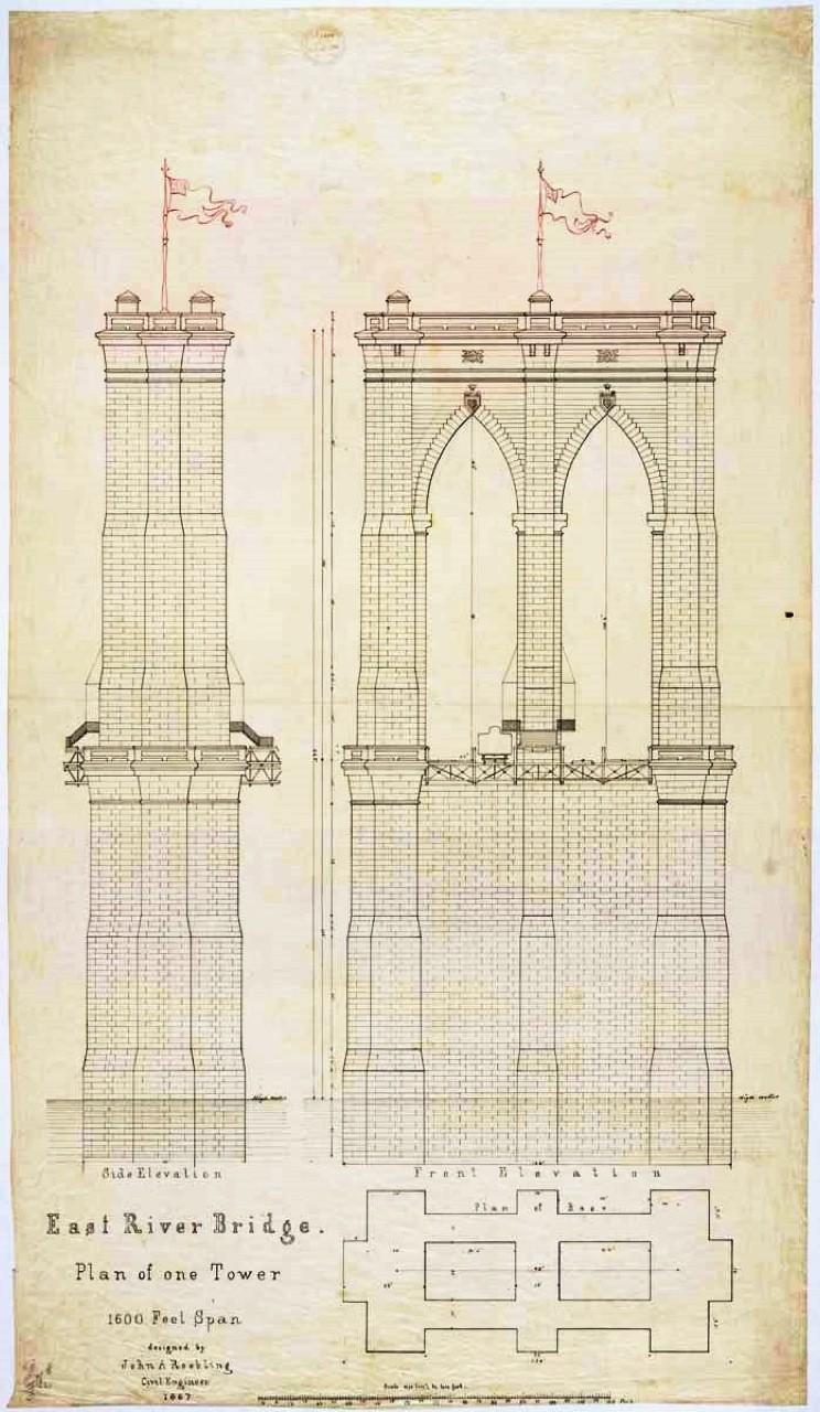 Gallery Of Ad Classics The Brooklyn Bridge John