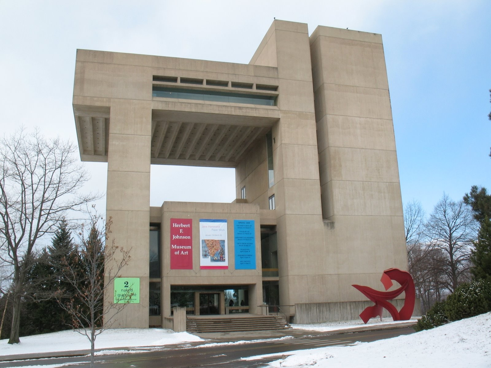Gallery of AD Classics: Herbert F. Johnson Museum of Art, Cornell ...
