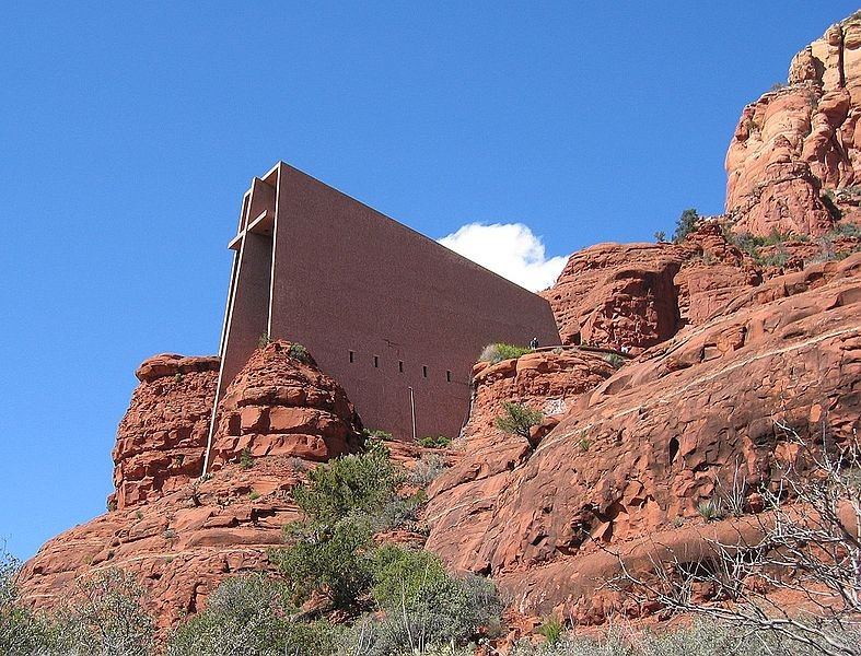 Gallery of ad classics chapel of the holy cross richard for Sedona architects